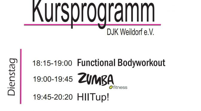 Zumba/Workout/HIITup!