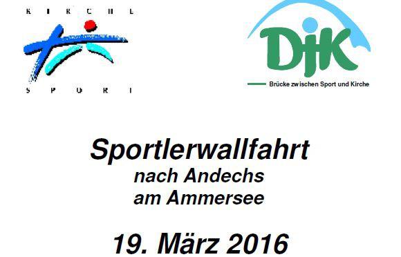 DJK-Sportlerwallfahrt nach Andechs